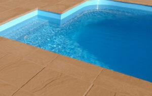 Foto bazén Mystery hnědá