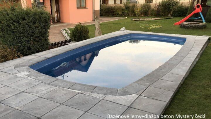 Bazénové lemy Mystery beton_šedá3